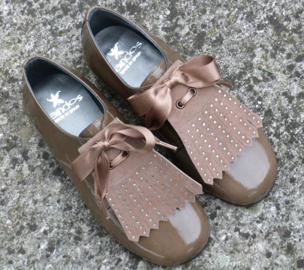 calzado infantil blucher niñas charol