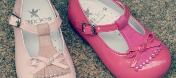 zapatos niñas landos