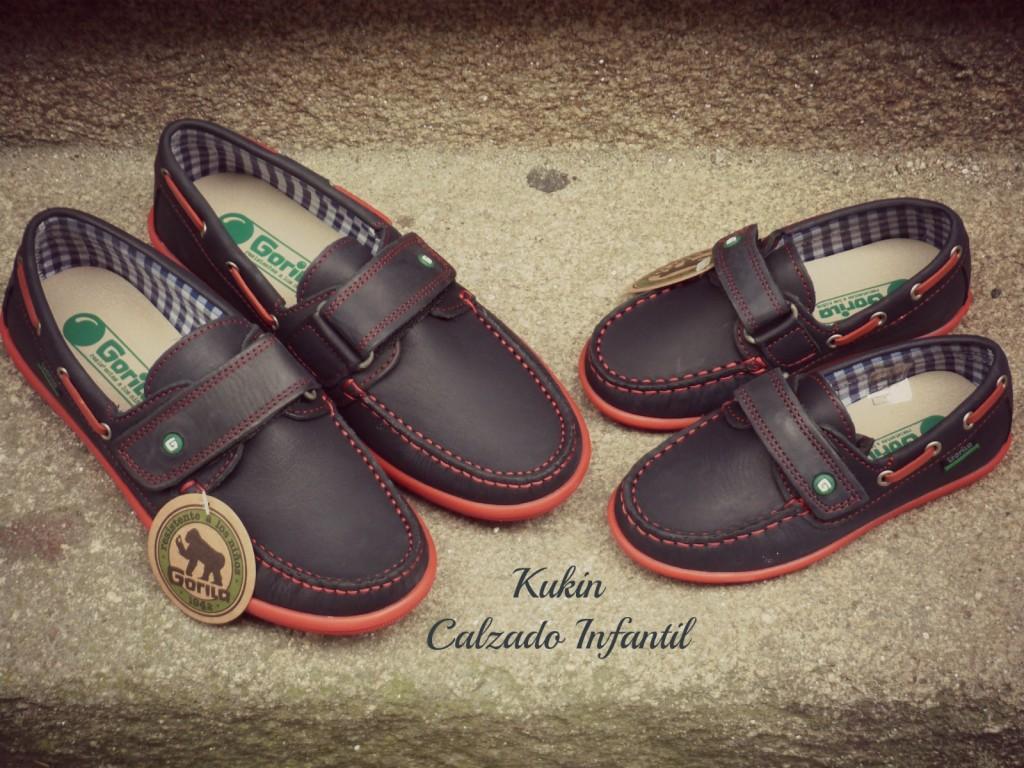 zapatos niño gorila
