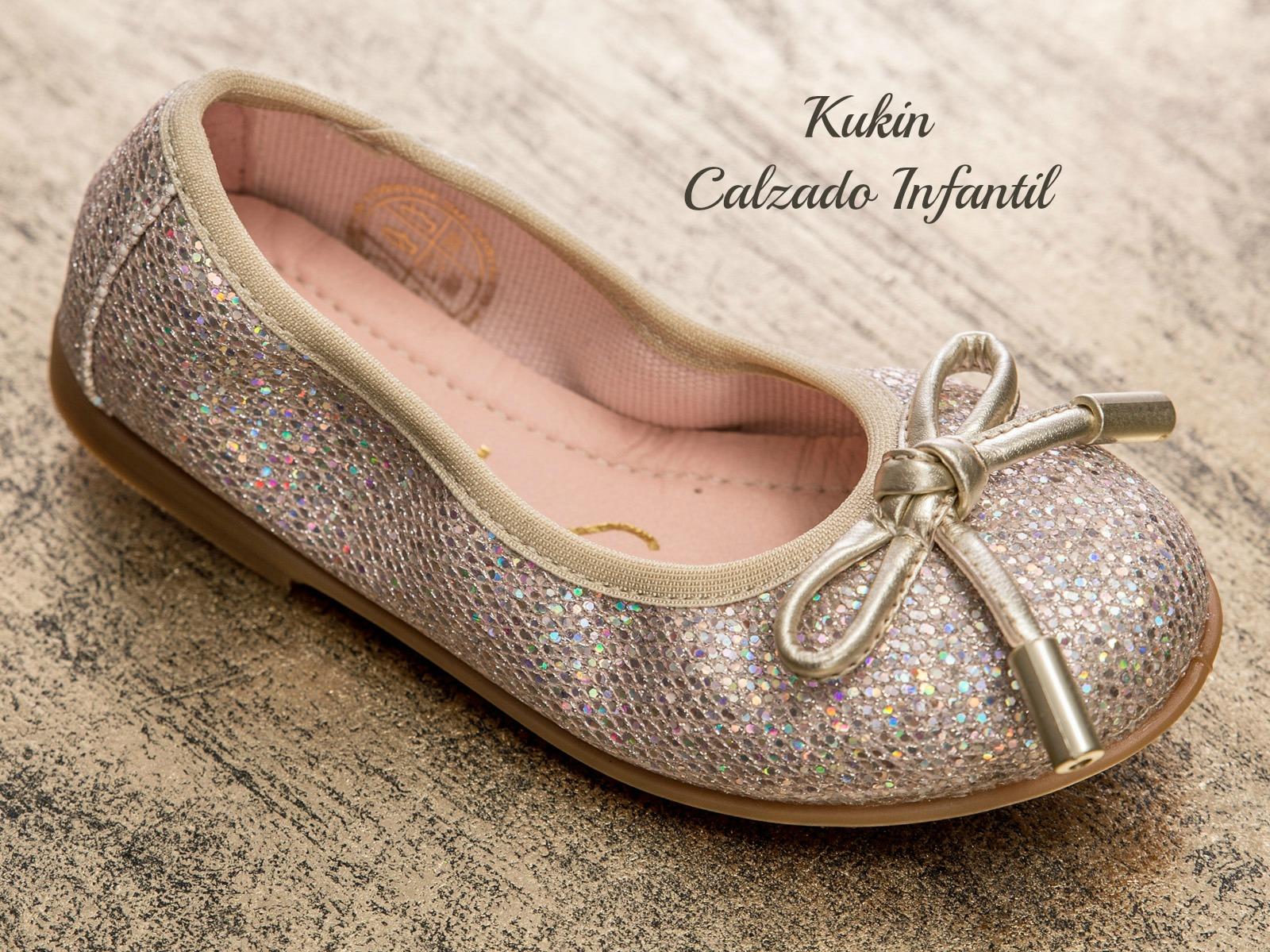 zapatos niña dorados Zapatos niña Unisa