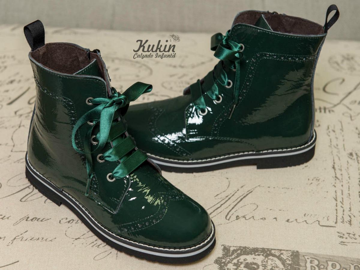 comprar botas verde botella niña