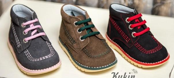 comprar botas serraje niños