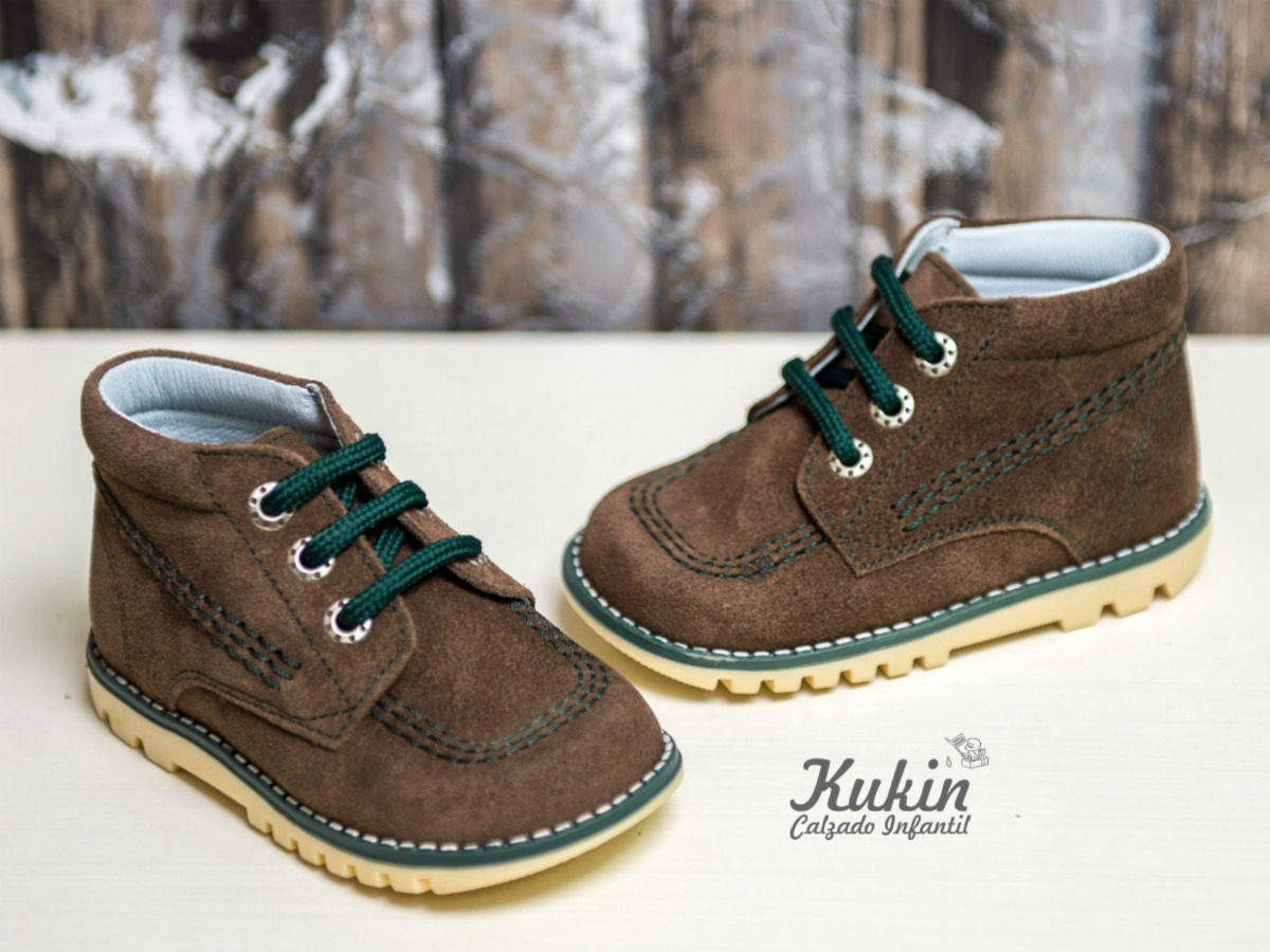 adbca8b7e Botas y zapatos de serraje - Kukin Calzado Infantil Blog