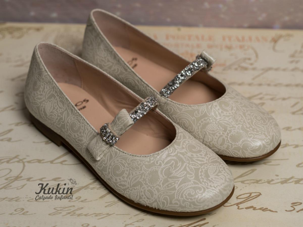 Zapatos de ceremonia para ni as kukin calzado infantil blog - Ideas para decorar zapatos de nina ...