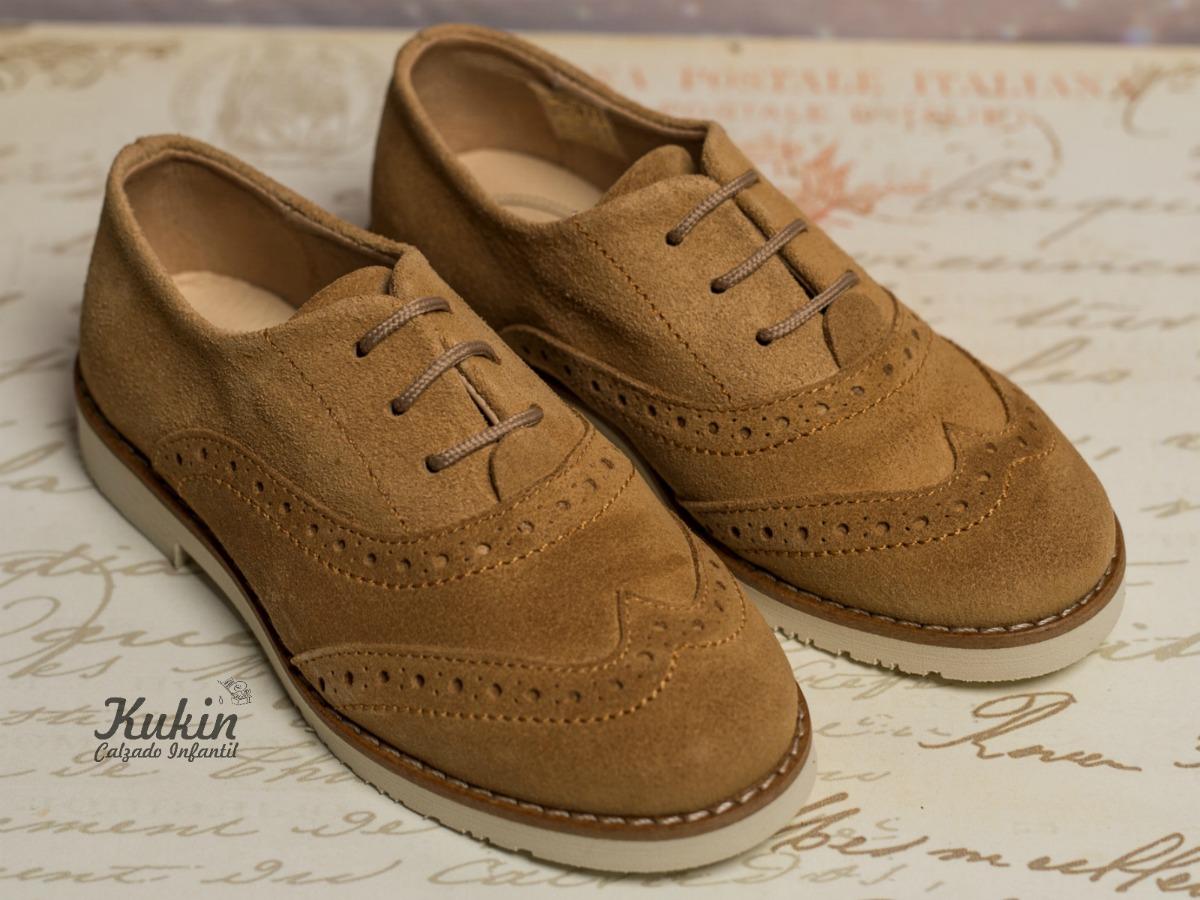 zapatos oxford niño