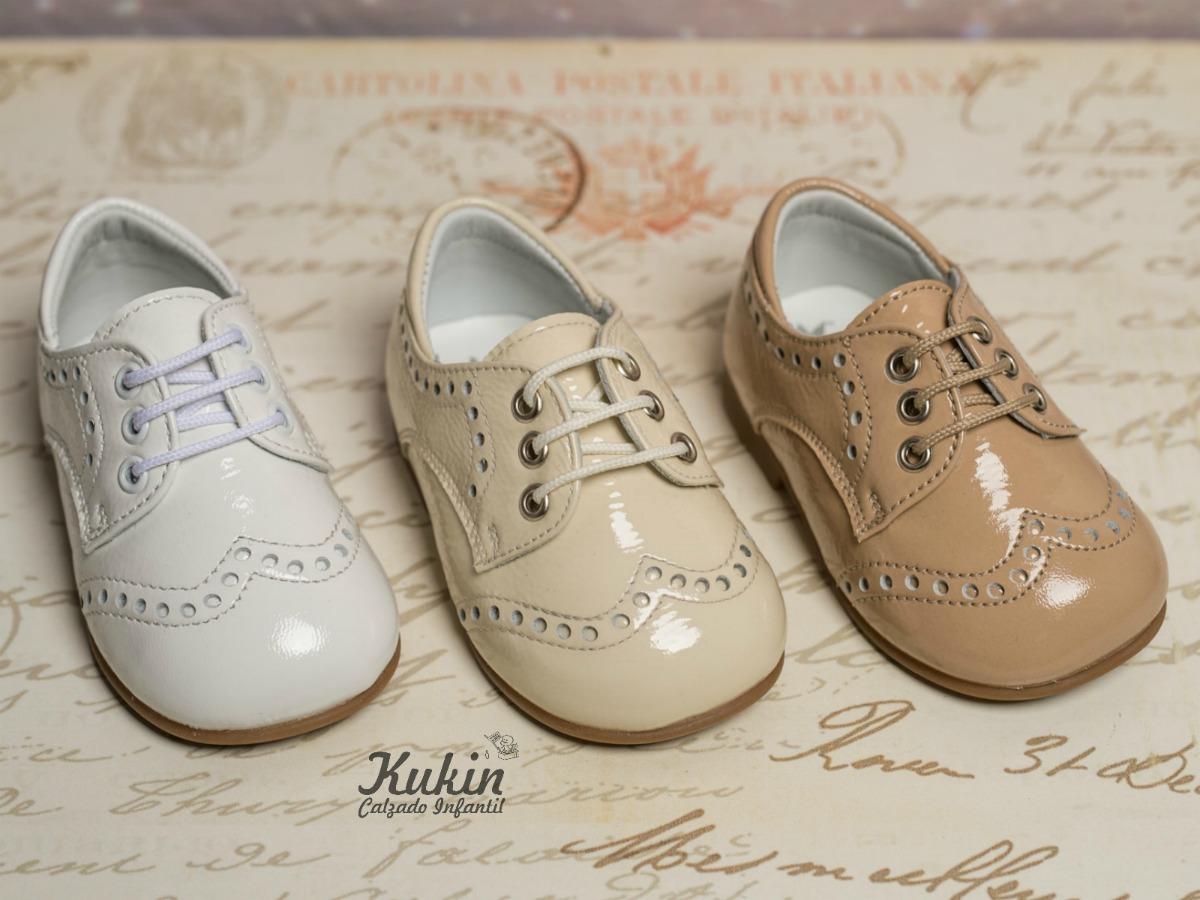 4e988bfc Zapatos de ceremonia para niños - Kukin Calzado Infantil Blog
