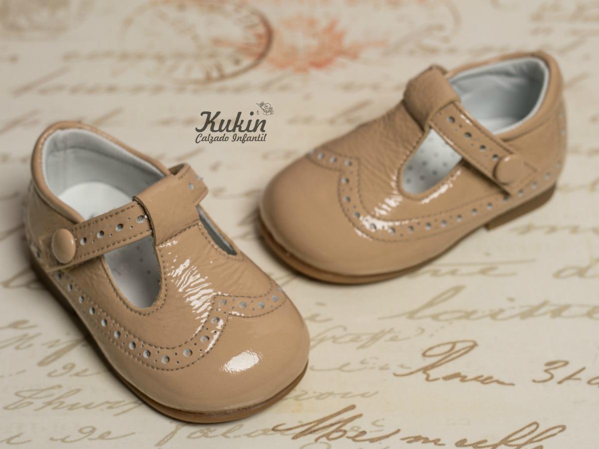 zapatos charol niño