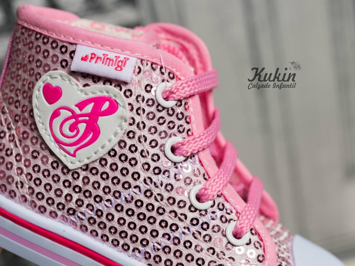 zapatillas niña rosas primigi