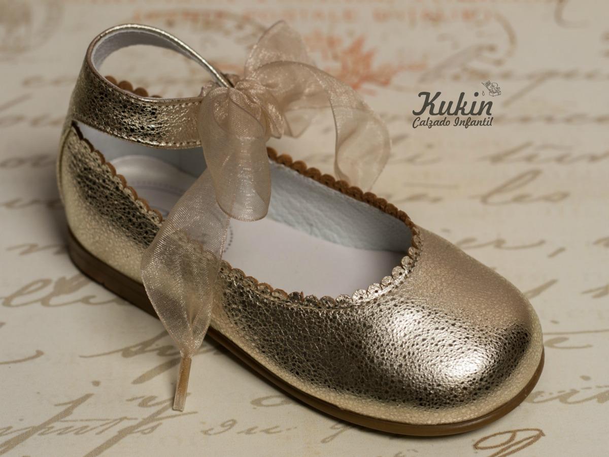bailarinas niña doradas